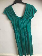 M&S Autograph ladies green dress size 12