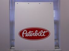 "Peterbilt 24""x30"" Poly Mud Flap Set 3/16"""