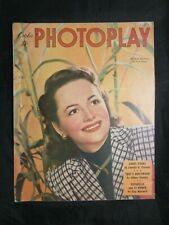 Vintage Movie Magazine - Photoplay October 1947 Olivia de Havilland
