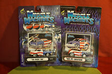 1:64 Scale diecast Muscle Machines Lot of 2