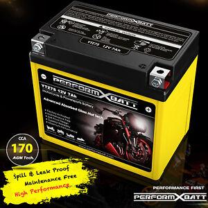 170CCA Battery YTZ7S = Motobatt MBTZ7S GS GTZ7S > YTX5L-BS Yuasa GTX5L-BS RTX5L