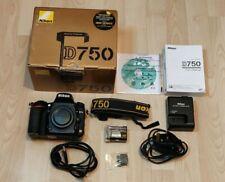 Nikon D750 24.3mp DSLR Camera - Black Great Condition / Nikon Serviced