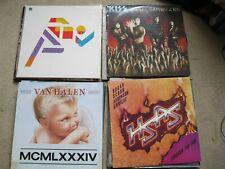 Job lot 25 Rock Heavy Metal LPs Whitesnake Dan reed Bon Jovi Rainbow Kiss Van Ha