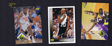 Mark JACKSON, Dennis RODMAN & Sedale THREATT - NBA BASKETBALL CARD LOT #4