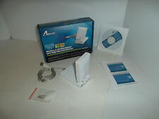 Airlink101 Wireless-N 150Mbps USB Adapter 802.11b/g/n w/10dBi Antenna AWLL5055
