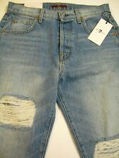 7 For All Mankind Women's Jean sz 27 High Waist Josefina Skinny Boyfriend
