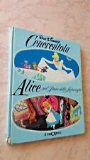 Walt Disney CENERENTOLA / ALICE NEL PAESE DELLE MERAVIGLIE - Il Melograno 1979