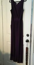 Kaileigh Womens Stitch Fix Jumpsuit Purple Sleeveless poly/spandex XL Junior