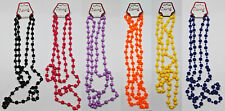 """55"""" Long Rope Bead Necklace Beads Beaded Strand Retro 80's BUY 1 GET 1 20% OFF"""