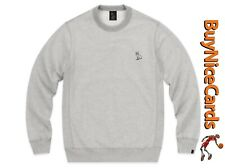 Drake's October's Very Own OVO Mid-Weight French Terry Grey Crewneck Size Large