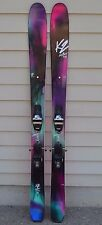 2017 WOMENS K2 LUV BOAT 105 SKIS 170CM + MARKER SQUIRE BINDINGS $920 DEMO UNIT