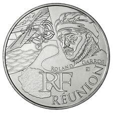 Pièce de 10 euros des régions Réunion 2012.