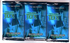 CCG Young Jedi: The Jedi Council Unopened Packs of 11 Cards X3, by Decipher
