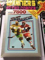 Atari 7800 Retro gaming Game Hat Trick Boxed Cib
