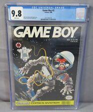 GAME BOY #2 (Nintendo NES) CGC 9.8 NM/MT White Pages Valiant Comics 1990