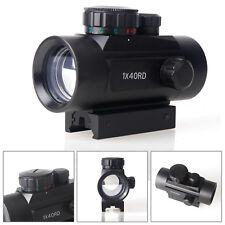 4 Reticle Blue Red Green Dot Laser Sight Optic Scope Rangefinder Mil Dot Mount