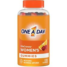 One A Day Women's VitaCraves Gummies, Multivitamins for Women, 170 Ct
