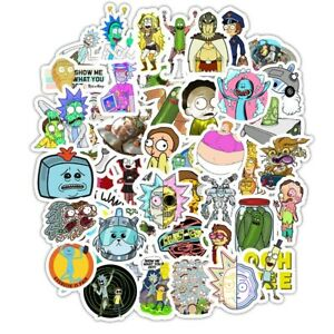 RICK FROM RICK AND MORTY Vinyl Sticker FREE SHIPPING NEO THE MATRIX