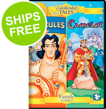 Enchanted Tales Camelot / Hercules (DVD, 2013) NEW, Sealed