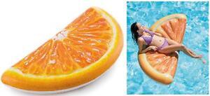 Intex Orange Slice Pool Float / Pool Lounger / Swimming Pool Mat