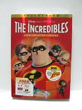 New The Incredibles (Dvd, 2-Disc Set, Fullscreen, Collectors Edition) Disney
