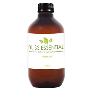 Pure Neem Oil   Neem Seed Oil   Organic Cold Pressed- 200ml, 500ml, 1 Litre