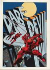 Vintage 1978 DAREDEVIL Pin up Poster Marvel Comics