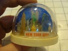 vintage 60's-70's Plastic Snow Globe Hong Kong: SEE-SAW--NEW YORK CITY #2