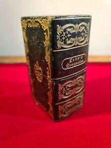 """GORGEOUS VICTORIAN ANTIQUE """"LADIES COMPANION"""" SEWING ETC ETUI c.1890"""