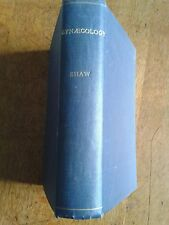 'Textbook of Gynaecology' Wilfred Shaw, 1938 illustrated hardback