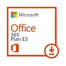 Microsoft Office 365 Enterprise E3 |1 Year / 5 Users (PCs, MACs, Tablets, Phone)