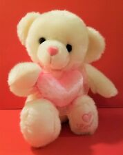"""New Valentines Love Teddy Bear Plush Animal Stuffed Toy 12"""" Embroidered Gift"""