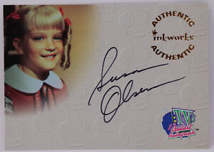Inkworks Susan Olsen Cindy Brady Bunch Autographed Signed Trading Card