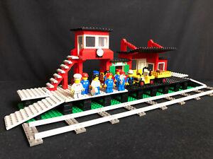Lego 7824 Eisenbahn großer Bahnhof  Train Station (Railway Station) von 1983