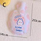 Cartoon Warm Hot Water Bottle Cute Mini Plush Girl Pocket Water Injection W Y1