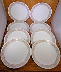 "Corelle 10 1/4"" WOODLAND Dinner Plates Set of 8"