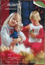 ALDENS CHRISTMAS 1972 Catalog WISHBOOK The Best of The 70's --Great Toys
