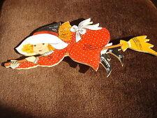 POUPEE JEUNE SORCIERE BOIS style holly hobby sarah key  30 cm