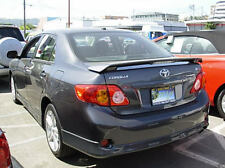 # 287 PRIMERED FACTORY STYLE SPOILER fits the 2009 - 2013 TOYOTA COROLLA