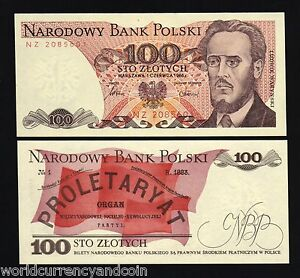 Details about  /Set 6PCS Banknotes,Poland 20+50+100+200+500+1000 Zlotych,Uncirculated