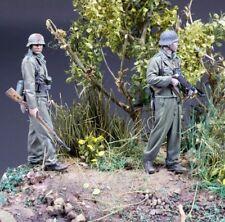 █ 1/35 Resin WWII GEFREITER GRENADIER 2 Soldiers Unpainted BL166