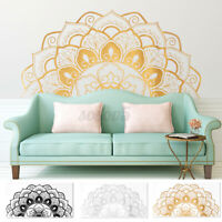 42*85 Half Mandala Wall Sticker Wall Decal Decor Art Living Room Bedroom