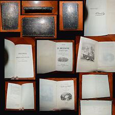 RARE VOYAGE EN SICILE ET A MALTE P.BRYDONE 1844 FRONTISPICE ET SIGNATURE DE MAME