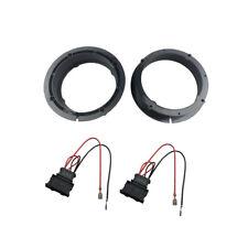 """Speaker Adapter for VW Passat Polo Skoda Seat Audi Rings 165mm 6.5"""" W. Wiring"""