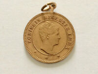 Medaille Niederlande 1894     Königin Regentes  EMMA / Königin   WILHELMINA