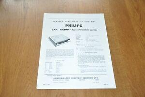Philips Car Radio Model N2G36T/00 05 Workshop Service Manual