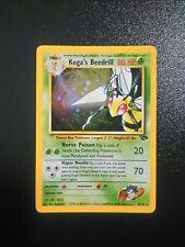 Pokemon Koga's Beedrill Holo Gym Challenge 9/132