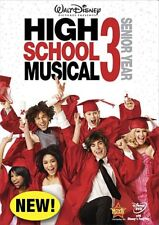HIGH SCHOOL MUSICAL 3 SENIOR YEAR New Sealed DVD