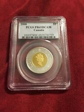 2000 Canada Proof Sterling 2 Two Dollar Coin ((  Highest Grade Known ))))