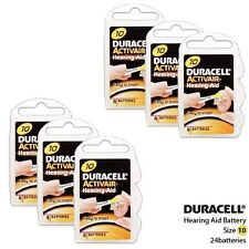 Duracell Size 10 Activair Hearing Aid Batteries (24 Batteries)